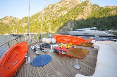 Crewed Yacht Charter Gocek